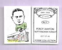 Nottingham Forest Percy Ashton 31 (FC)